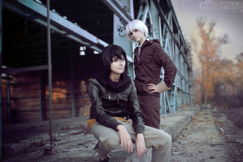 Nezumi and Shion by ~DominicPortwein