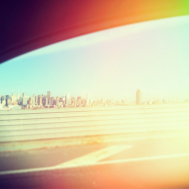 Drove in this morning ☀ (Taken with instagram)