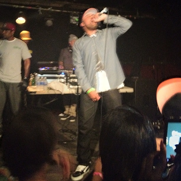 Dom K last night.  (Taken with instagram)