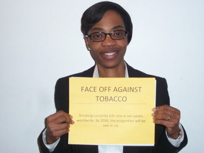 "Face Off Against Tobacco on Flickr. ""Speechless"""