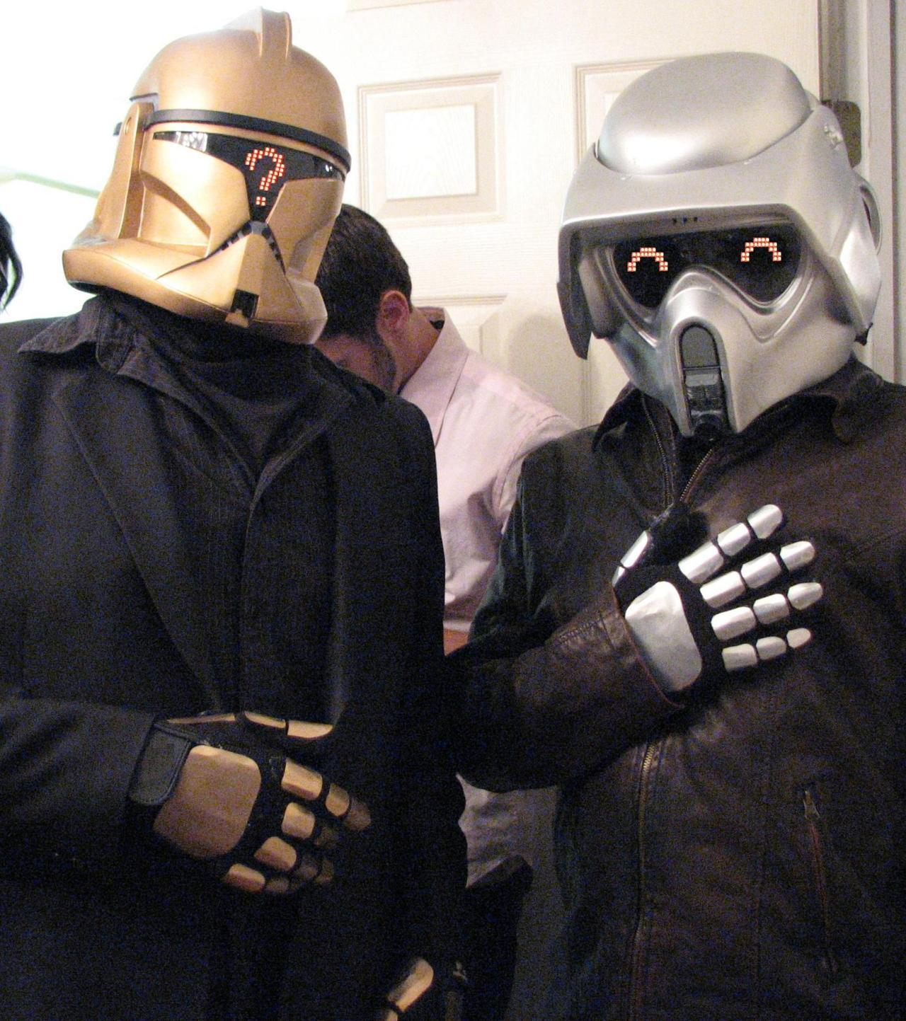 midtowncomics:  Star Wars/Daft Punk mash up cosplayers!