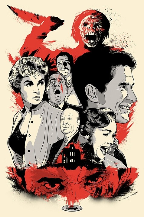 hellyeahhorrormovies:  Psycho (1960)  I want this printed and framed in my office!