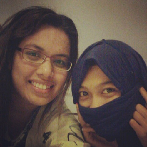 With miss taliban and my new red specky! (Taken with Instagram at Mandarin Oriental Hotel)
