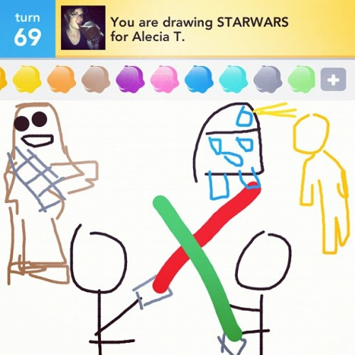 I seem to be lacking my mom's artistic gene… (Taken with instagram)
