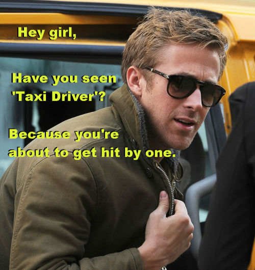 filmstudiesryangosling:  How I imagine it all went down.