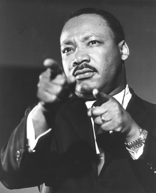 washingtonpoststyle:  Martin Luther King Jr. was killed 44 years ago today. Photo via the AP