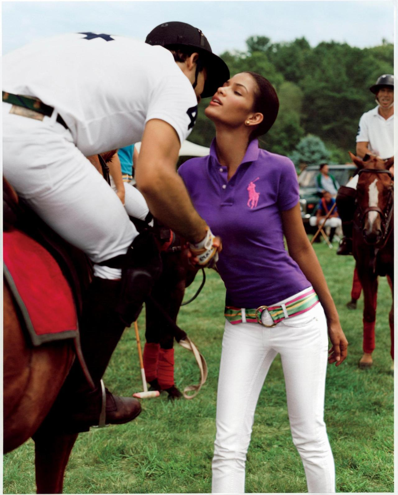 The Ralph Lauren Big Pony Collection Ad Campaign