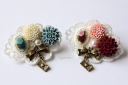 Flower Forest Dolly Kei Brooch