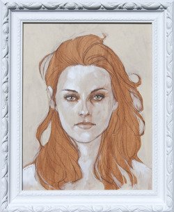 "philnoto:  Kristen Stewart  - Here's my piece for the upcoming group show ""Muchos KStew"" at Meltdown Comics in L.A. this weekend. It's being curated by my friend and Kstew Superfan,  Julia Vickerman. There's going to be a bunch of great art so you should definitely check it out. Sadly I can't make it due to having to help the Easter Bunny out this weekend. http://www.meltcomics.com/blog/2012/03/26/muchos-kstew-an-artistic-tribute-to-the-actress-kristen-stewart-4072012-artshow/"