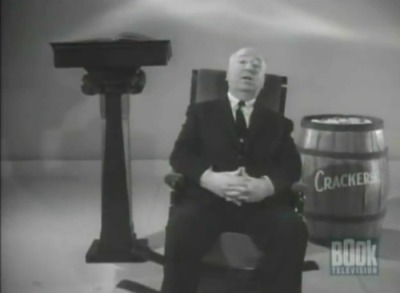 Pictured above: Sir Alfred Hitchcock, rocking that chair horizontally while random inanimate objects look on.