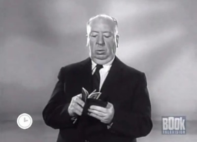 Pictured above: Sir Alfred Hitchcock, trolling the masses all the way to the bank.