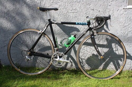 Anyone wants to buy my road bike? Trashbar frame 52st 52tt, Chris King Headset, Colombus Carbon Fork, Thomson Stem and post, FSA bars, Selle Italia Flite with Titanium Rails saddle, Formula Wheels, Panaracer Pasela Tires 700x23, Full Campagnolo Chorus 10 Speed. $900 Anytimecrew@gmail.com