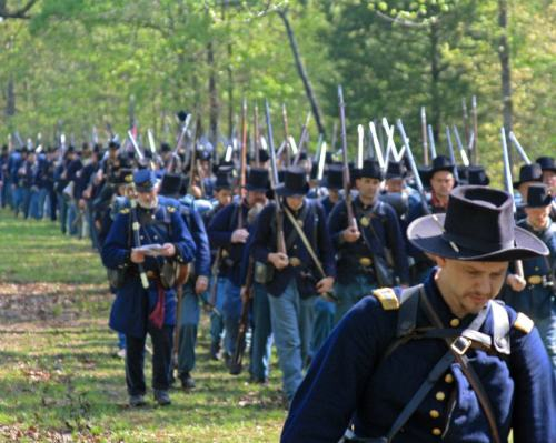 150th Anniversary of the Battle of Pittsburgh Landing, or Shiloh.