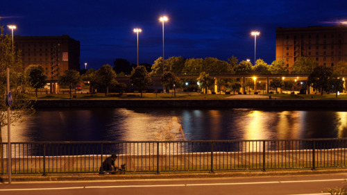 Alfonse's #Photo #Guide to #Bristol:  Cumberland Basin Two Rivers in this shot - plus the ghost of Allegra…
