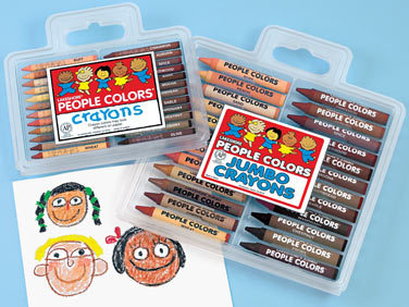 Skin tone crayons…where were you when I was in preschool? (via Lakeshore Learning)