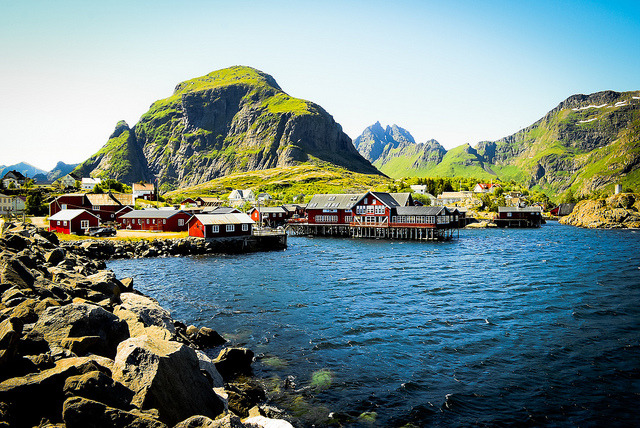 Å i Lofoten by Zanthia on Flickr.