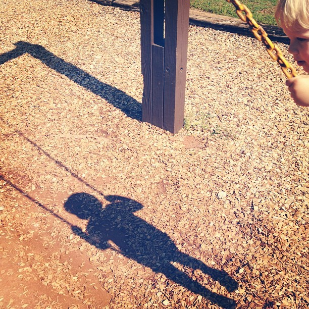 Swing time… (Taken with instagram)