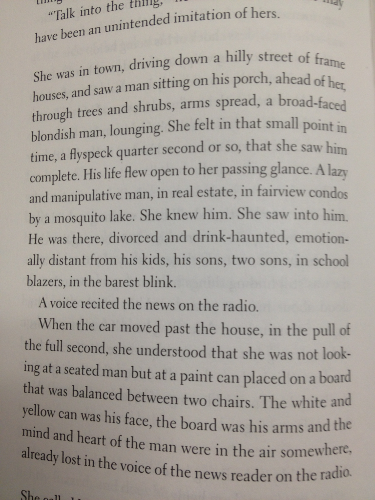 "Excerpt from Don DeLillo's ""The Body Artist"" - anyone who is a fan of surrealist narratives and post-modernism should at least read the opening chapter of this novella."