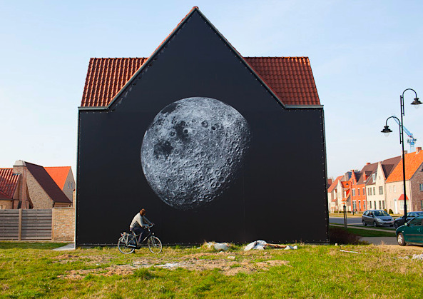 Michael Light, Full Moon in Belgium by Corey Arnold