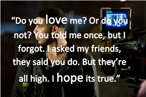 Drake Quote of The Day 4/4/2012 Created by: Iwasbornwithmusic