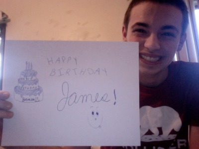 :))awe thank you anferny :)james' 3rd sign… on his 3rd birthday ;)
