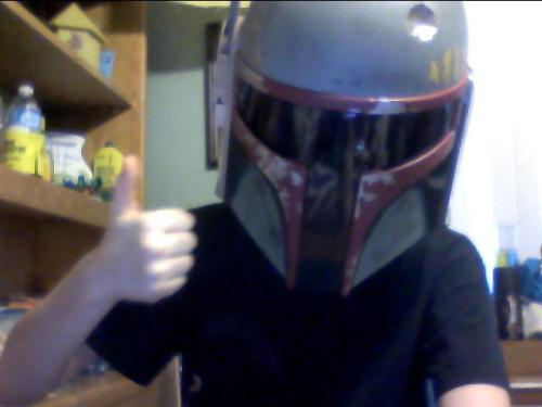 Boba Fett and I think I need more followers:3