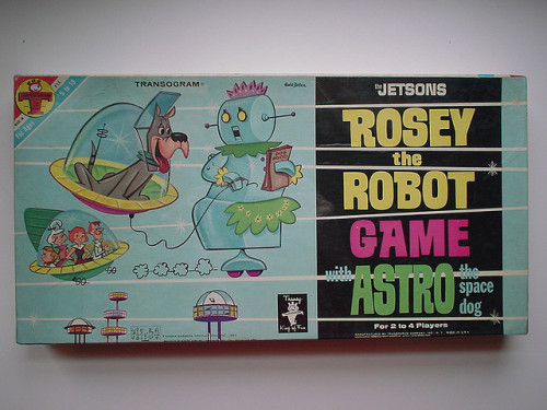 Rosey The Robot Game with Astro (1963)