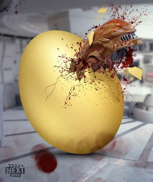 Happy Easter! via Alien