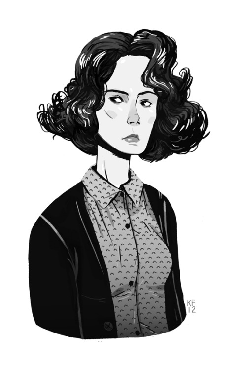 kylefewell:  Donna Hayward for the Twin Peaks zine being done by Andrea Kalfas :D
