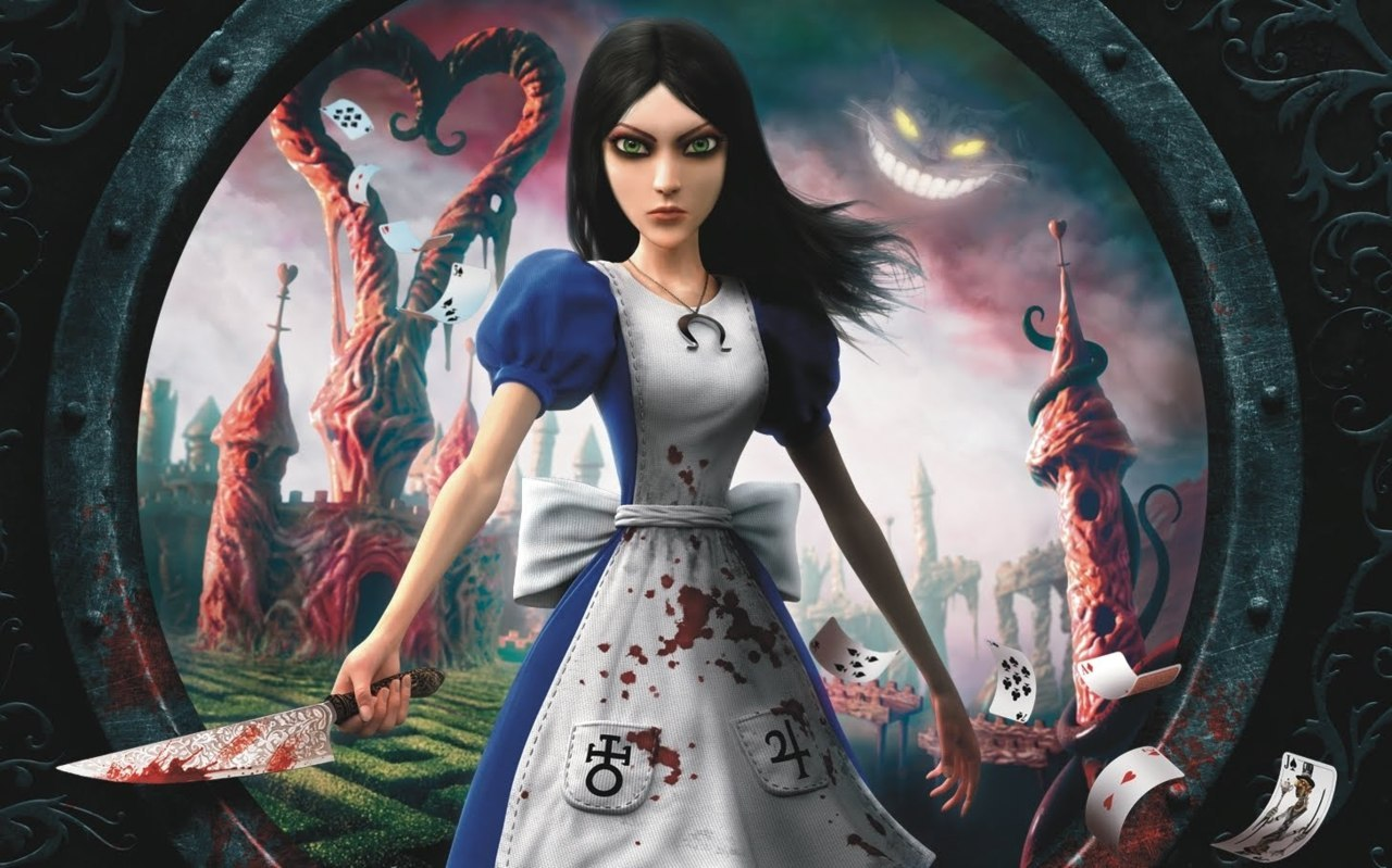 I have just finished the last chapter of Alice - Madness Returns on Xbox 360. I honestly did not expect that dark and evil twist in the story. I totally blew my mind. And so did the whole game. It's a masterpiece of dark, horrible, yet beautifully artistic imagery and storytelling. You should give it a try if you haven't already. For me personally this game goes straight to the hall of fame of the best and most memorable games I have ever played. And now on to re-playing the original American McGee's Alice. I have never finished this one when I played it on PC years ago. Thanks to the free download voucher that was included in Madness Returns I can now replay it on my Xbox :)