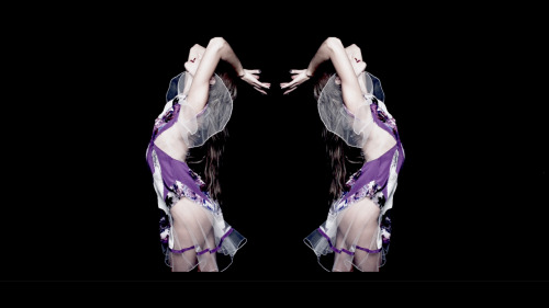 A pretty still from Prabal Gurung's spring 2012 video.