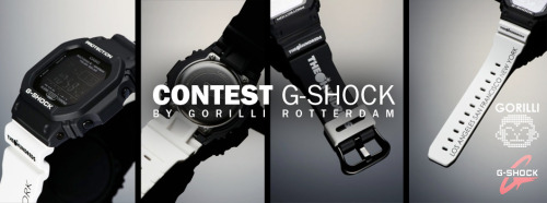 lacebag:  Reblog to win a The Hundreds x G-Shock by Lacebag thanks to Gorilli. Enter with Facebook or Twitter via:  http://www.lacebag.nl/the-hundreds-x-g-shock/