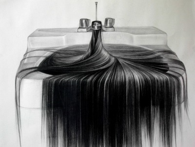 showslow:  Hairy Object Drawing by  Hong Chun Zhang. via
