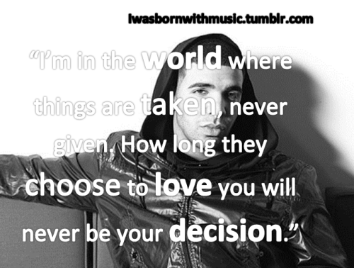 Drake Quote Of the Day 4/5/2012