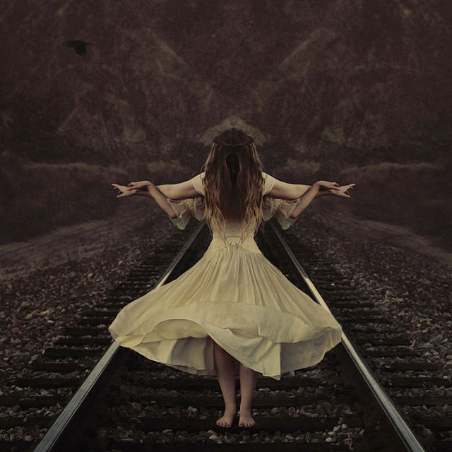 the guiding spirit by brookeshaden on Flickr.