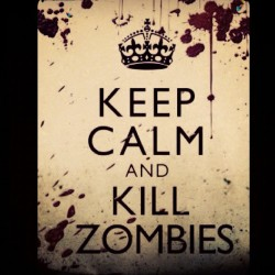 #keepcalm  #blackops #classic #zombies #blood #fun  (Taken with instagram)