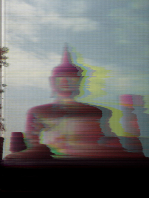 surrogateself:  BUDDH15M by Master Glitch No Photoshop - No Filters - Just pure glitch photography