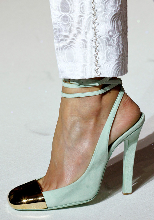Yves Saint Laurent, Spring 2012 Ready-to-Wear