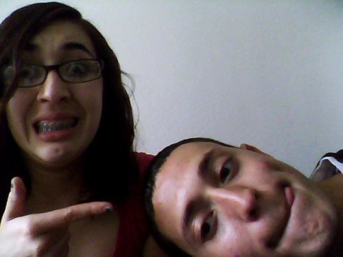 my brother & my bestfriend. nobody will ever get us<3