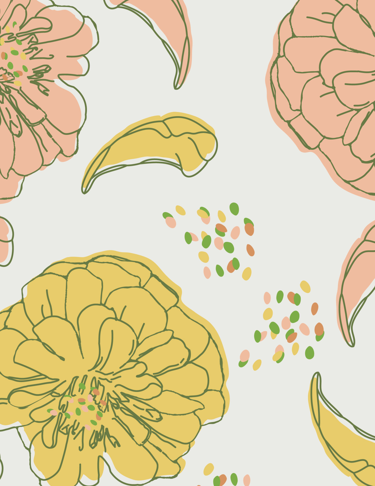 Hey guys! I'm teaching a Skillshare class on how to make patterns just like this! See more info here: http://skl.sh/HEez4V