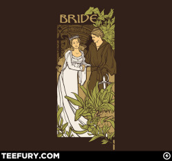 teevil:  Bride by khallion on sale Tue 04/10/12 at teefury.com
