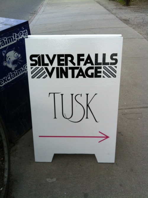 silver falls vintage & tusk15 ossington avenue(design: silver falls and tusk)april 2012