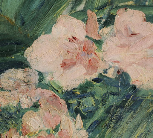 In the Conservatory (Detail), Édouard Manet, 1879