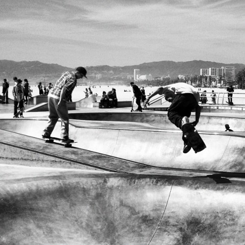 Lunch break. #skaters #venice (Taken with Instagram at Cold Open)