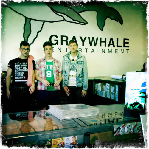 Here's a shot of Fun. at Graywhale in Sandy, UT where they did an acoustic performance and in-store signing over the weekend!