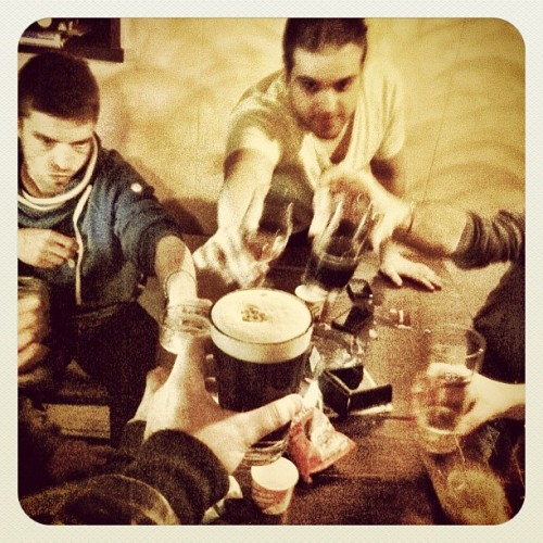 #drinking #beer with #friends (Scattata con Instagram presso Brasserie Arnage)