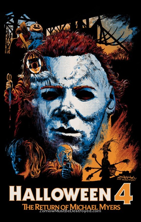 Halloween 4: The Return of Michael Myers. [1988] Where can I get this print? It's amazing.