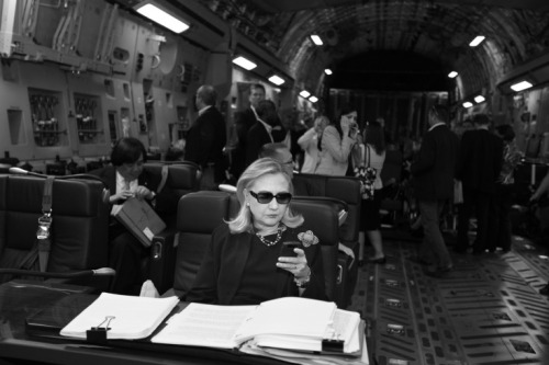 afternoonsnoozebutton:  Hillary Clinton, Secretary of State/full time BAMF