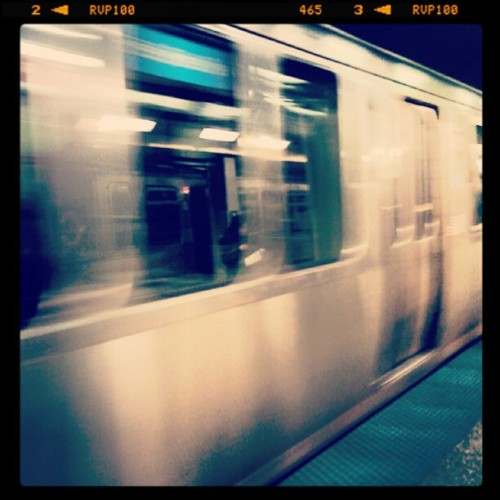 train to freedom. (Taken with instagram)