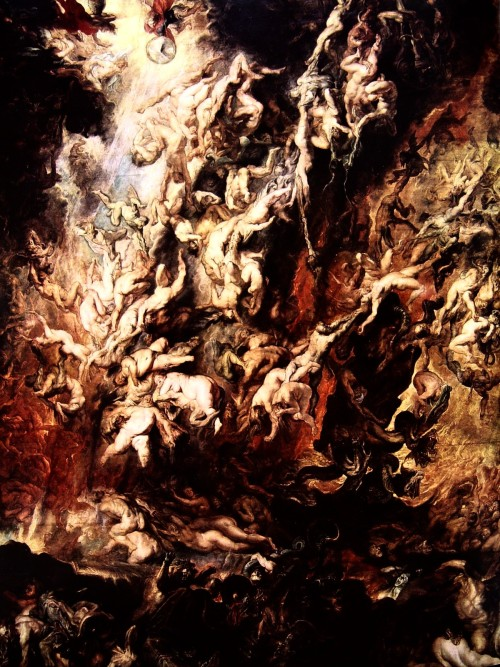 svell:  Peter Paul Rubens, Fall of the Damned, first half of the 17th century.